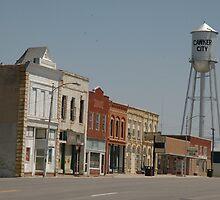 Small Town Kansas by Michael McClendon