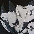 Mono lillies by Angela Palibrk