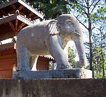 Stone Elephant by Moyashi04104