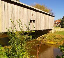 Lynchburg Covered Bridge by Debbie Meyers