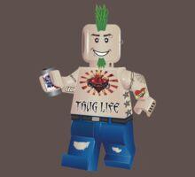 Tattooed Lego Guy by eddiehollomon