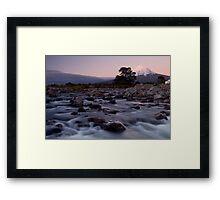 Mount Taranaki 4 Framed Print