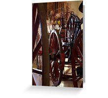 Wheel History II Greeting Card