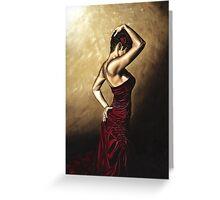 Flamenco Woman Greeting Card