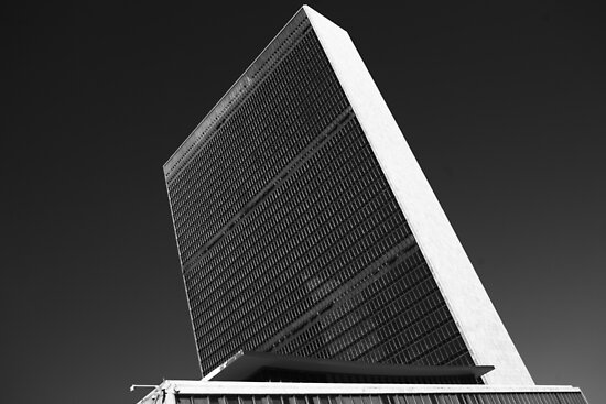 The White Monolith of Peace by Gerald Holubowicz