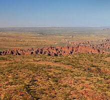 Over the Bungle Bungle Range by Stephen Colquitt