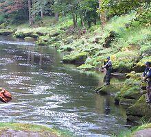 River Idyll by John Thurgood