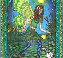 The Lilly Pond Fairy by CherrieB