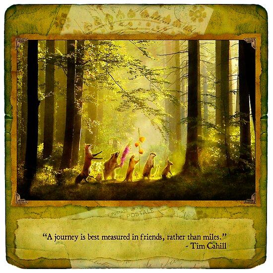2010 Foxfires Calendar - August by Aimee Stewart