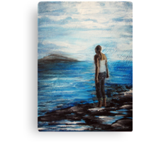 Deep Blue Canvas Print