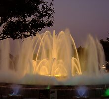 The Magic Fountain, Barcelona (1) by Themis
