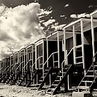 Beach Huts I by Mabs