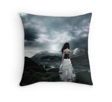 Dancing at the Dawn of the Apocalypse  Throw Pillow
