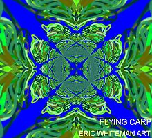 FLYING CARPET ERIC WHITEMAN ART  by eric  whiteman