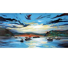 Portree Harbour Photographic Print