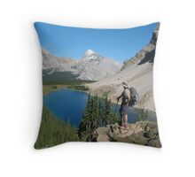 Fish Lake Throw Pillow