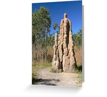 Termite Mounds, Litchfield National Park, NT, Australia Greeting Card