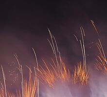 Edinburgh Fireworks by dinghysailor1