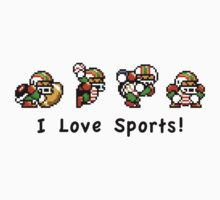 I Love Sports! by shikijiyu