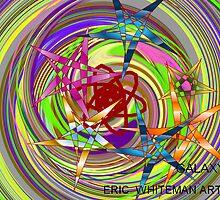 GALAXY ERIC WHITEMAN  ART  by eric  whiteman