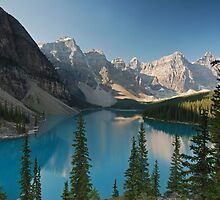 Moraine Lake by Eivor Kuchta