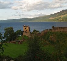 Urquhart Castle by WatscapePhoto