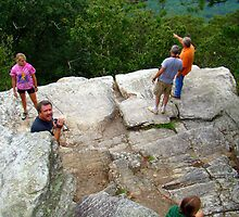 Edge of Bald Rock by Wanda Raines