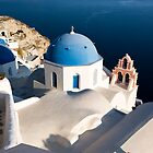Magic colors in Santorini by Monica Di Carlo