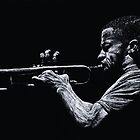 Contemporary Jazz Trumpeter by Richard Young