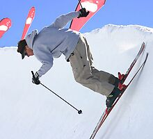 Skiier by Michelle Armour