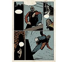 Unlettered Comic Page Photographic Print