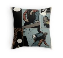Unlettered Comic Page Throw Pillow