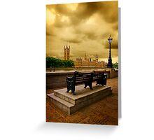 London Serenity Greeting Card