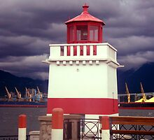 Stanley Park Lighthouse by Ruth Palmer