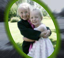 Jas and Sadie by Linda  Gier