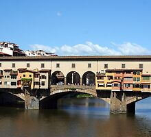 Ponte Vecchio - Florence, Italy by Peggy Berger