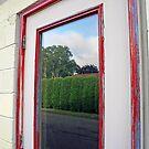 reflection in doorway by Lynne Prestebak