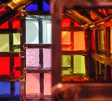 New light through stained glass windows by Sazfab