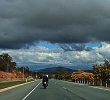 Motorcycle Series #5 Canberra by Evita