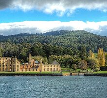 Broken Spirits - Port Arthur Historic Site, Tasmania Australia - The HDR Experience by Philip Johnson