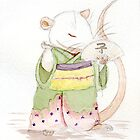 Maiko Rat - Sensu (fan) by rotem