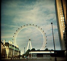 London Eye by kathy archbold