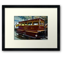 Port of Carlise Carriage Framed Print
