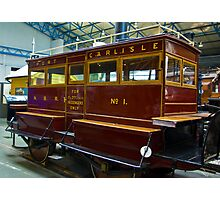 Port of Carlise Carriage Photographic Print