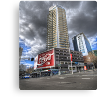 Coke at Zenith Apartments Canvas Print
