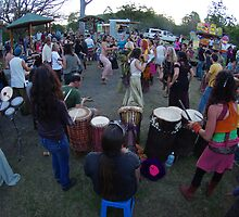 Drum Circle - Channon by Brian Alexander