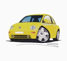 VW New Beetle Yellow by Richard Yeomans