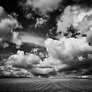 Cloudspotting in black and white by clickinhistory
