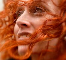 Red Curles by Bojoura Stolz