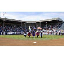 Eugene Emeralds' final game at Civic Stadium, opening ceremony. Photographic Print